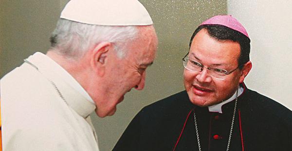 Formó parte del protocolo durante la visita de Francisco