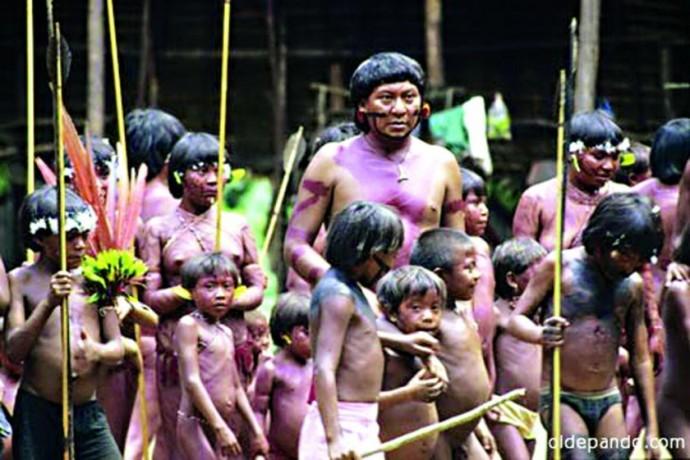 PROTECCIÓN. Un trabajo de exploración en el norte de La Paz identificó la presencia de indígenas que viven aislados...