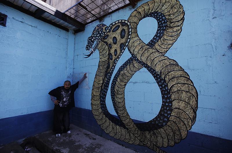 Una imagen que hace referencia al Barrio 18