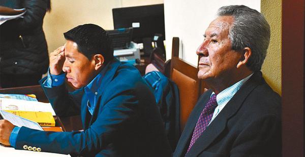 El periodista Humberto Vacaflor espera que el juez cierre su caso en la próxima audiencia
