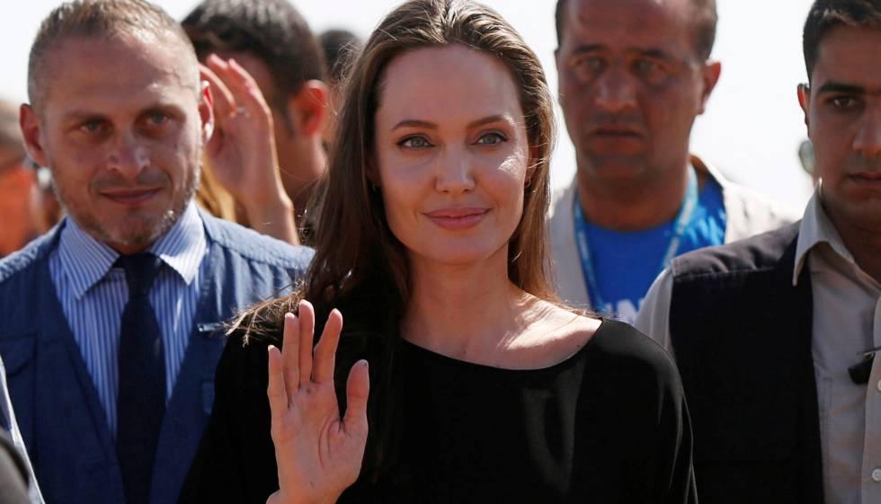 Angelina Jolie, el pasado 6 de septiembre en Jordania.