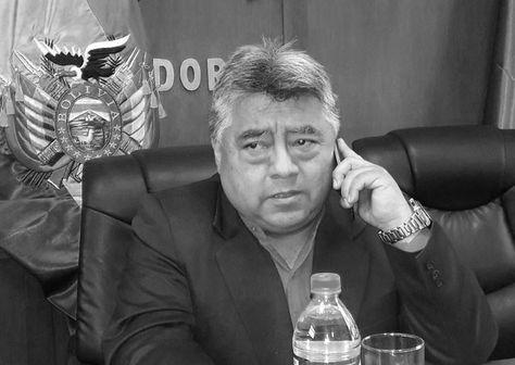 El viceministro de Régimen Interior, Rodolfo Illanes. Foto: Archivo ABI