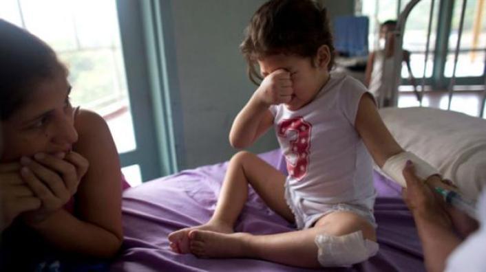 Ashley Pacheco sufrió varios meses por una lesión aparentemente inofensiva