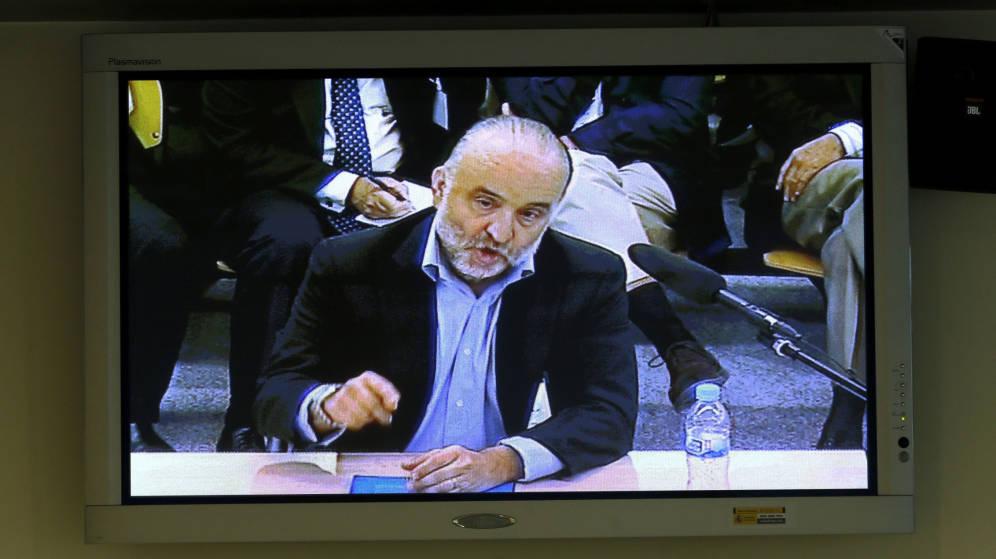 Foto: Rodolfo Benito durante su declaración. (Efe)