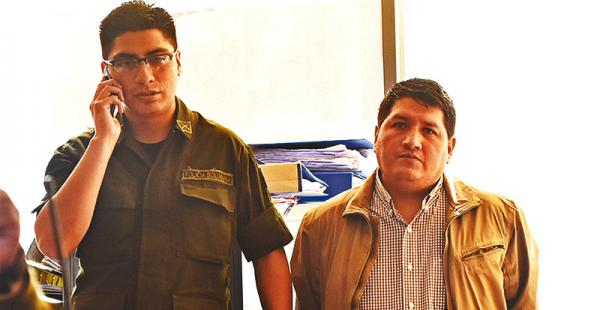 Ernesto Córdova, propietario de La Diosa, fue enviado el viernes a la cárcel de San Pedro, en La Paz