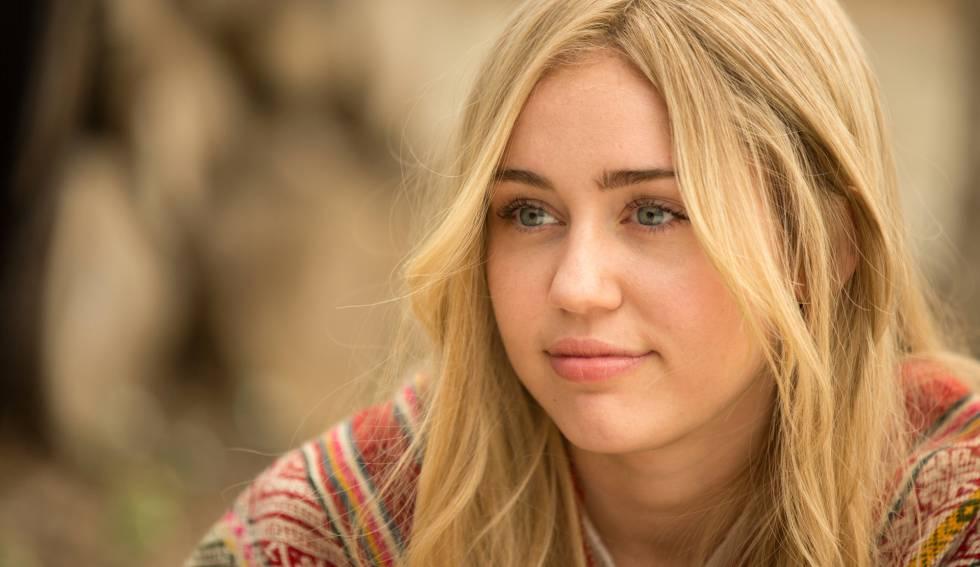 Miley Cyrus, en el trabajo realizado con Woody Allen.