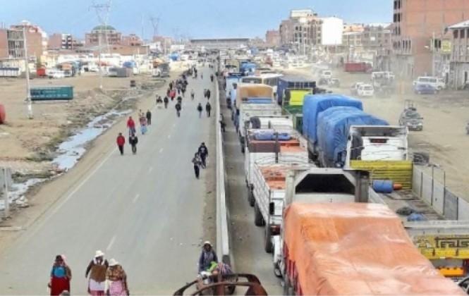 El Alto: Policía asegura que este lunes actuará para evitar bloqueos