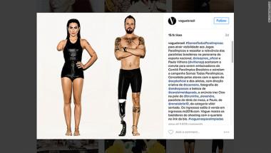 Los protagonistas de la fotografía de Vogue Brasil son los actores Cleo Pires y Paulo Vilhena.