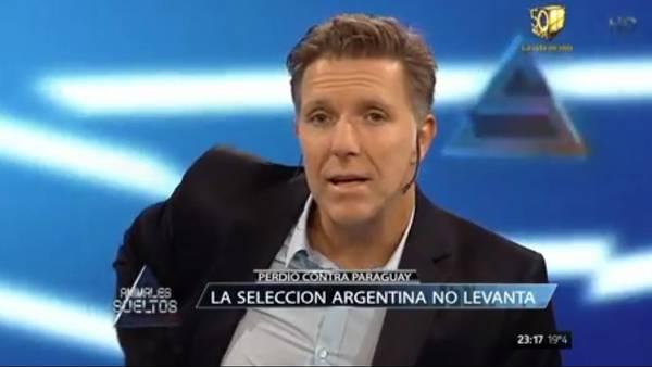 """""""Estos jugadores son los mismos que pidieron alojarse en una zona alejada para evitar el contacto con la gente"""", acusó Alejandro Fantino."""