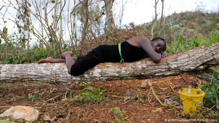 Haiti Hurricane Matthew (picture-alliance/AP Photo/D.Chery)