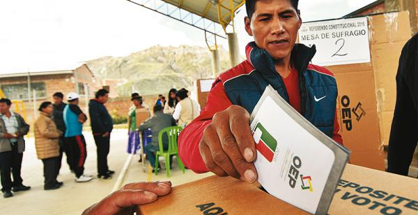 El 20 de noviembre se aplicará el referéndum para la aprobación de cartas orgánicas y municipios indígenas
