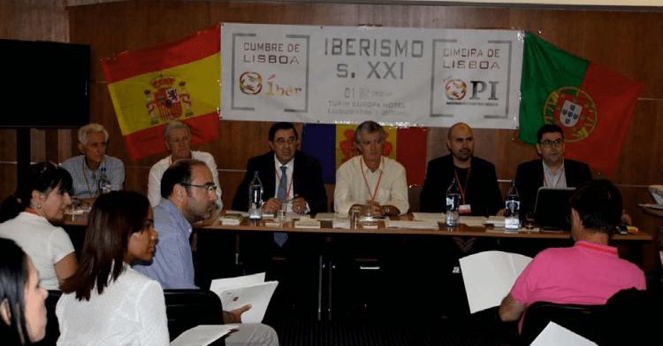 Cumbre de Lisboa, celebrada el 1 de octubre entre las dos formaciones ibéricas