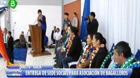 Evo Morales en Tarija