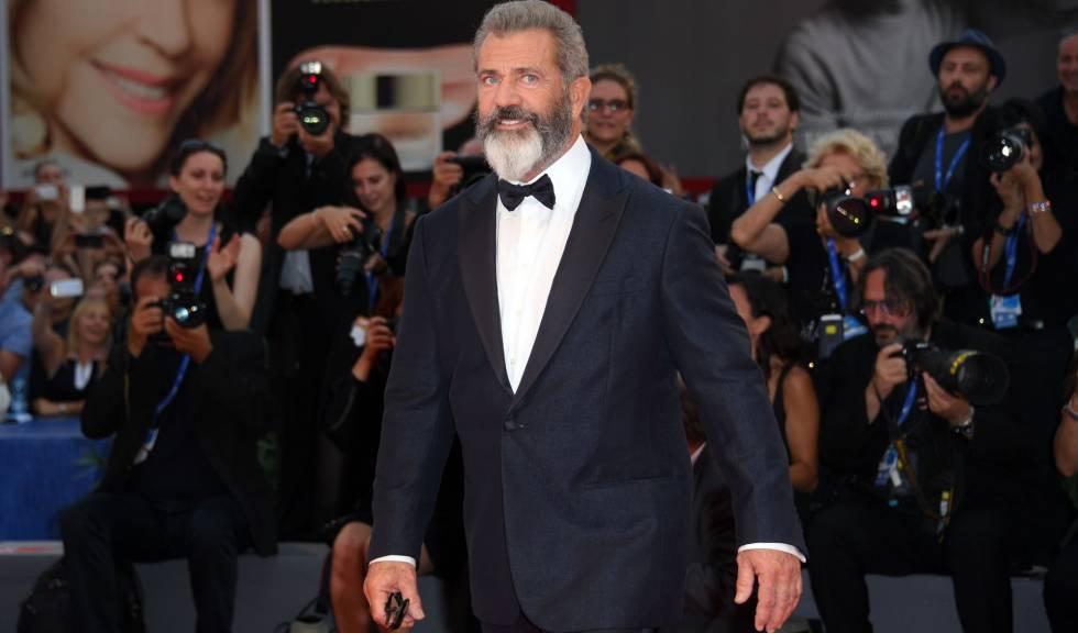 Mel Gibson, durante la presentación de la cinta Hackwas Ridge, en el festival de cine de Venecia.