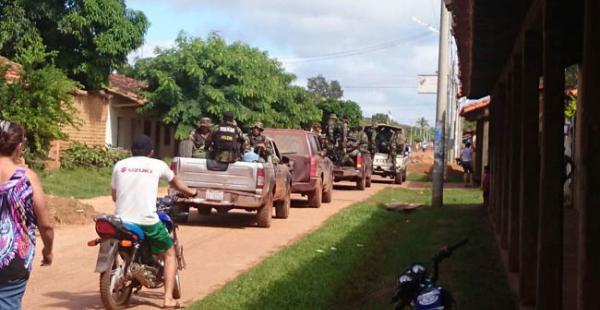 San Matías es una de las poblaciones afectadas por el narcotráfico, debido a su cercanía a Brasil.
