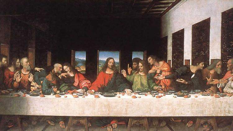 'La última cena', de Leonardo da Vinci