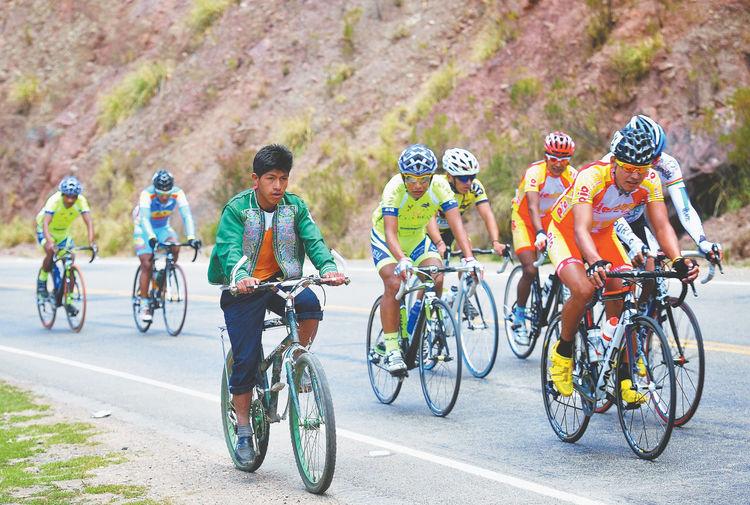 Resultado de imagen para Vuelta al Altiplano une dos ciudades ciclismo