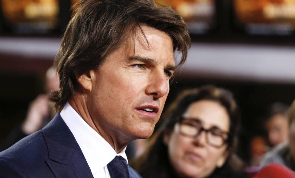 Tom Cruise, en el estreno de