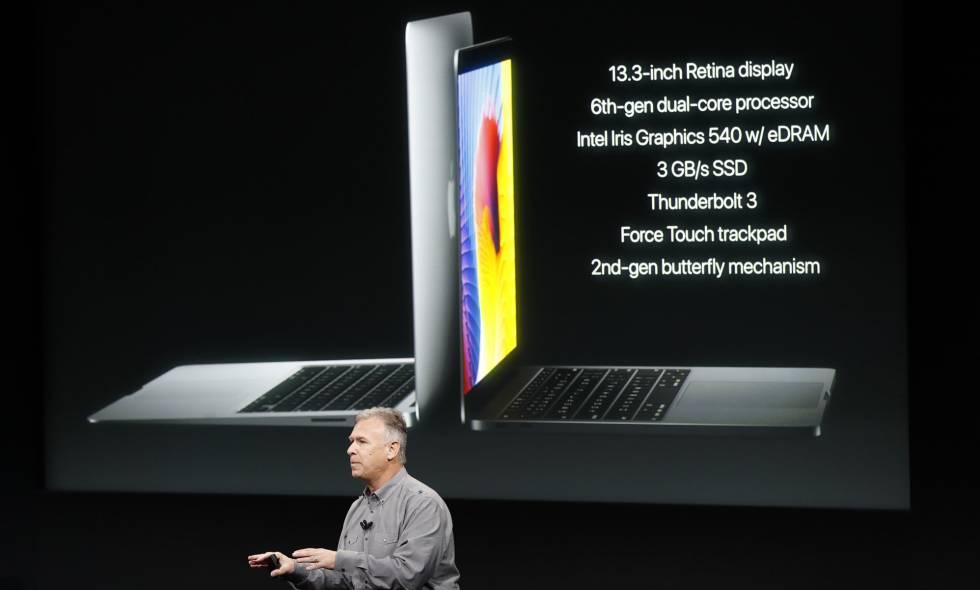 Presentación en Cupertino del MacBook Pro.