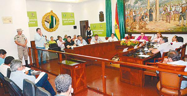 Los concejales recibieron el informe de la autoridad del SER