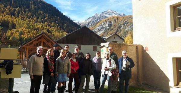 Representantes de organizaciones del chaco en visita a Francia