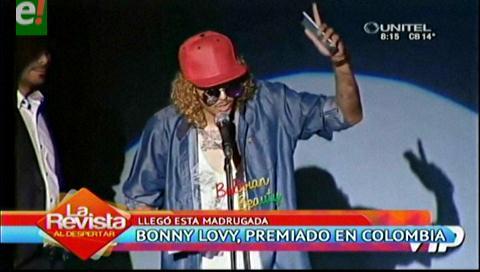 Bonny Lovy fue premiado en Colombia