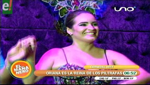 Oriana es proclamada soberana de los Piltrafas 2017