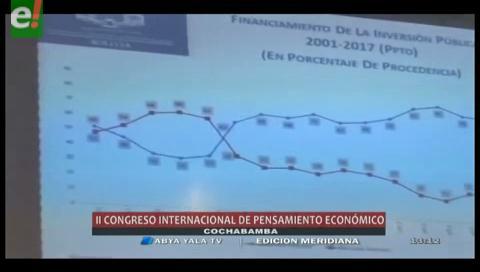 Se inaugura el II Congreso Latinoamericano del Pensamiento Económico