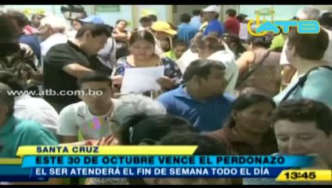 "Este 30 de octubre vence el plazo del ""perdonazo"" municipal en Santa Cruz"