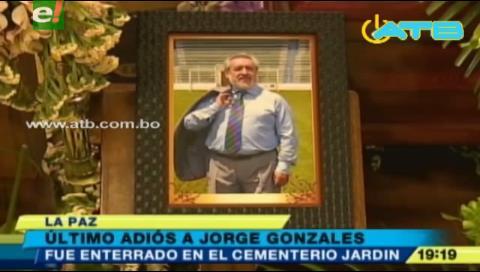 Dan el último adiós a periodista deportivo Jorge Gonzáles