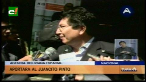 Agencia Espacial aportará con Bs 10 millones al bono Juancito Pinto
