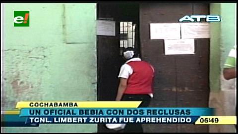 Gobernador del penal de Quillacollo está detenido por farrear con reclusas