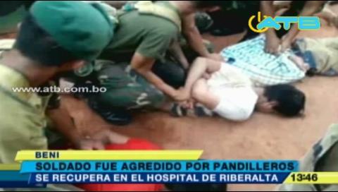 Presuntos pandilleros agreden a soldado en Riberalta