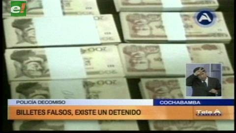 Delincuente pretendía circular Bs 189.800 falsos en mercados