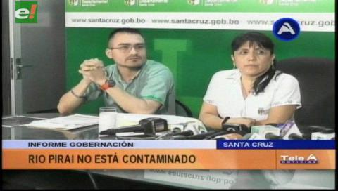 Gobernación afirma que no existe contaminación en el Río Piraí