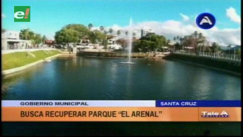 Municipio socializa proyecto de revitalización del parque El Arenal