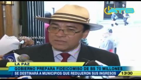 Gobierno prepara fideicomiso para municipios