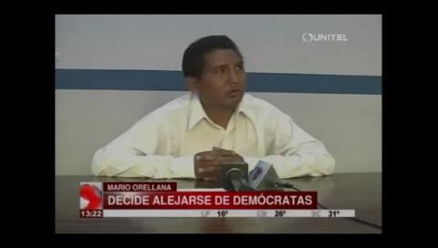 Asambleísta Orellana decide alejarse del Movimiento Demócrata Social