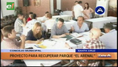 Avanza proyecto para revitalización del parque El Arenal