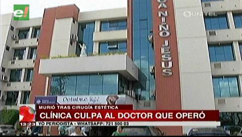 Investigan muerte de mujer en plena cirugía en una clínica