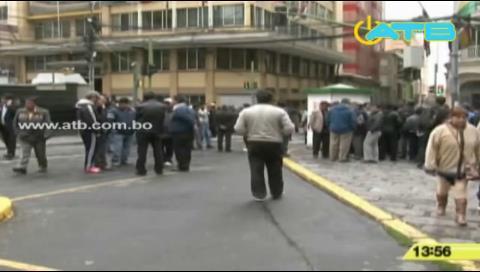 Confirman paro de transportes para este jueves 20 de octubre en La Paz