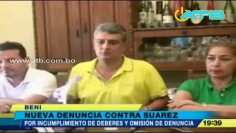 Nueva denuncia recae sobre Ernesto Suárez