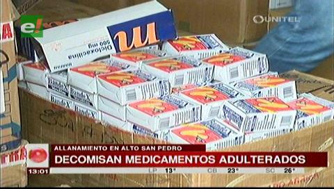 Santa Cruz: Decomisan medicamentos supuestamente adulterados