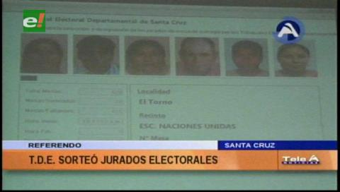 Casi 14.000 jurados para el referendo autonómico