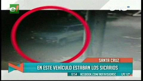En este vehículo estarían los asesinos de Miguel y Laura Santa Rosa