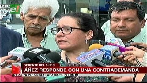 Gerente del Sinec contrademanda al diputado Felipe Dorado por calumnias