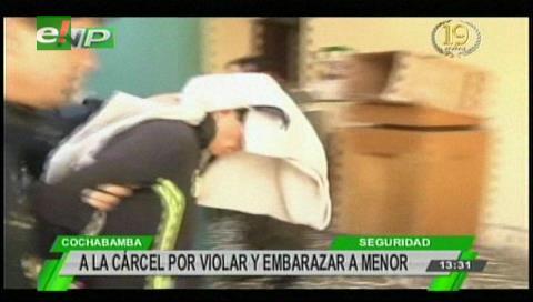 Cochabamba: Envían a la cárcel a sujeto que violó y embarazó a niña de 12 años