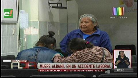 Santa Cruz: Albañil muere en accidente laboral