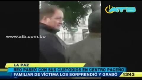 La Paz: Ordenan investigar a custodios que presuntamente paseaban con un reo