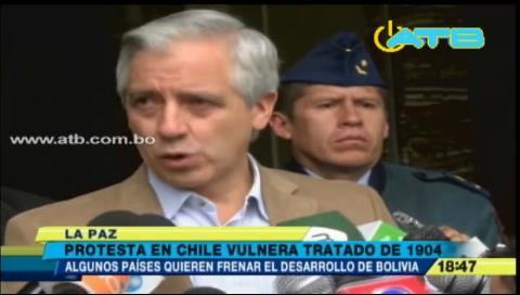 """Vicepresidente: """"A algunos países no les agrada el crecimiento económico boliviano"""""""